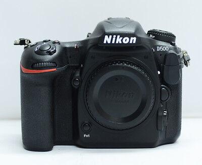 Nikon D500 20.9MP Digital SLR Camera - black body