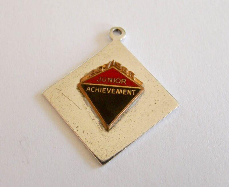 Sterling Silver Junior Achievement Adviser Charm