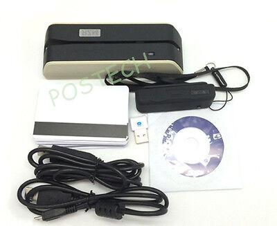 Msr X6 Mini400b Dx4b Mini Magnetic Stripe Encoder Writer Readegrey Usb-powered