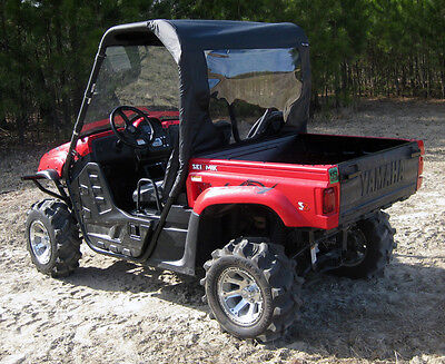 Rhino Soft Top - YAMAHA RHINO UTV SOFT TOP w/ REAR ENCLOSURE ALL YEARS 450 660 700