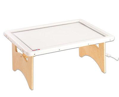 Commotion Großer Lichttisch mit Boden Klapptisch Leuchttisch Spieltisch Kinder