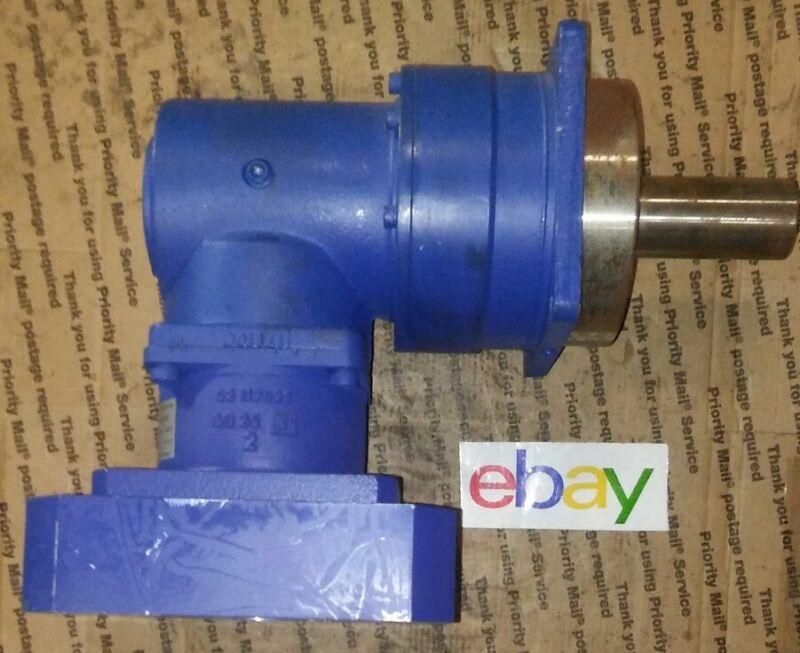 NEW ! Alpha Getriebebau #SPK-140-MX2-8 -051-001 angle Gear Reducer GEARBOX FANUC