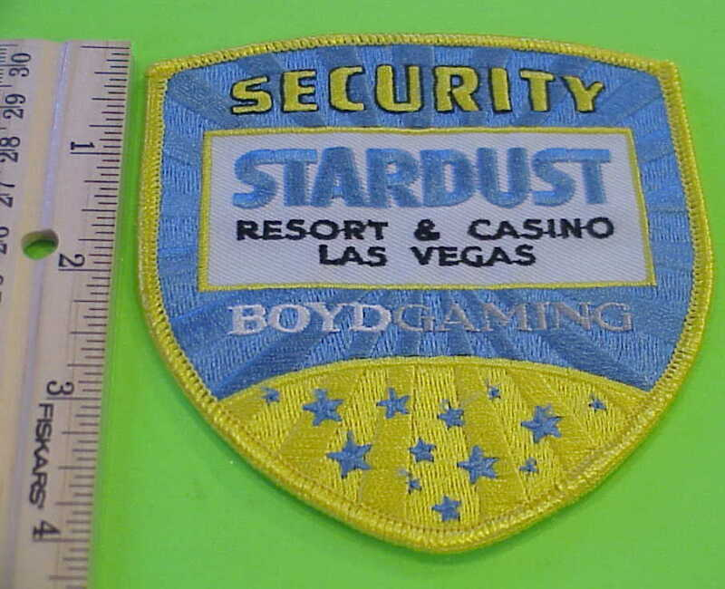 STARDUST RESORT & CASINO LAS VEGAS SECURITY PATCH BOYD GAMING NEW FREE SHIPPING