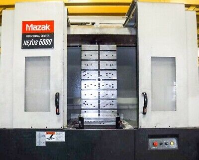 2006 Mazak Nexus Hcn-6000-ii Cnc Horizontal Machining Center