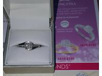 H Samuel engagement ring.