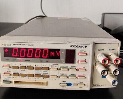 Yokogawa 7651 Programmable Standard High-precision Dc Voltage Current Power Sour