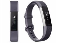 Brand New Unopened Fitbit Alta HR in Grey Blue Size Small - Cost me £149.99
