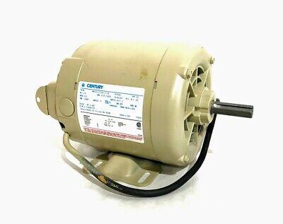 Century Motor For Challenge Jf Paper Drill 14hp 1ph 115v E-1600-21 Nib Usa