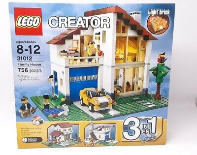 LEGO Creator Family House 31012 Retired NEW in Unopened Factory Sealed Box