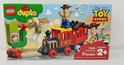 LEGO DUPLO Disney Pixar Toy Story Train 10894 Perfect for Preschoolers, Toddler