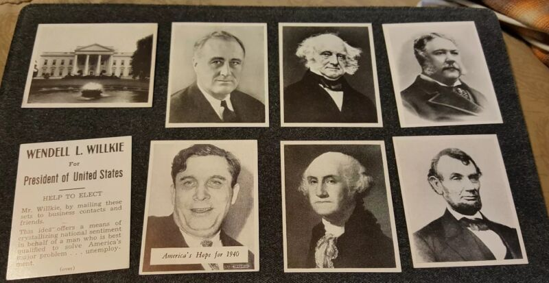 VINTAGE PRESIDENTS OF THE UNITED STATES AND AMERICA