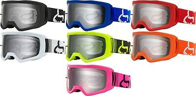Fox Racing 2020 Adult Main 2 Race Goggle Clear Lens MX ATV UTV Offroad