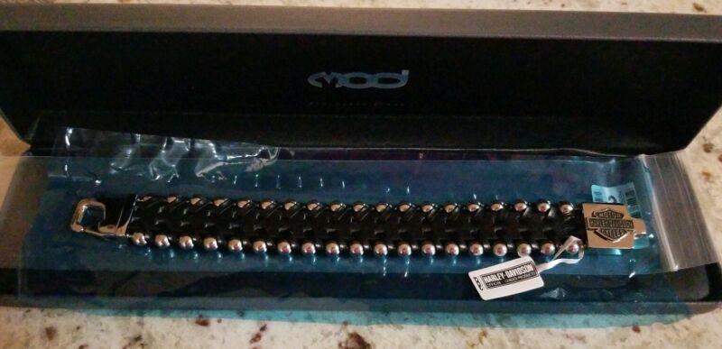 Harley Davidson MOD Stainless Steel Bracelet (8 inch)