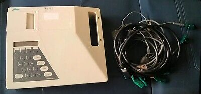 Burdick Spacelabs Ek10 Electrocardiograph Ekg Ecg Machine With Ecg Cable