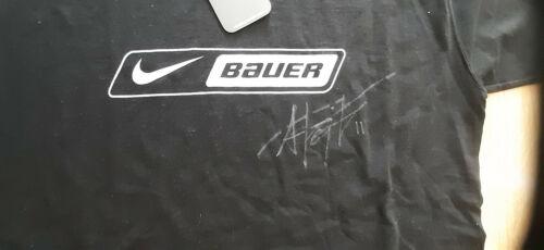 ANZE KOPITAR original Autograph on Nike T shirt BAUER Ice Hockey NHL