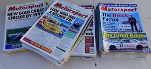 Mid 90s Collection Australian Motorsport Magazines Inc. Issue 1. Somerset Waratah Area Preview