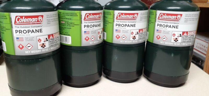 Coleman Propane Cylinder  16 oz (4-Pack)