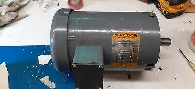 Baldor35305 -373 2hp Electric Motor 3ph 208-230460v 3250 Rpm 14510 Frame