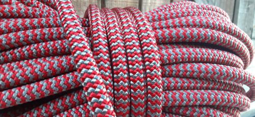 """1/2"""" x 49 ft. Dendrolyne  Double Braid Polyester Arborist / Industrial Rope ."""