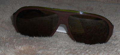 Lacoste Green with Brown Lens Sunglasses L644S 59-12-135 NEW No Case