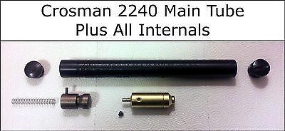 2 Main Tube - Crosman 2240 Main CO2 Tube, Valve, Hammer - All Internals - Parts Rebuild