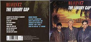HEAVEN-17-CD-THE-LUXURY-GAP-BONUS-TRACKS-2006-FUORI-CATALOGO