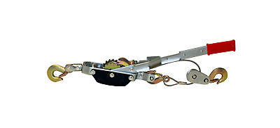 Abn Heavy-duty Hand Puller Cable Rope 4-ton Dual-gear 3-hook Come Along Tool