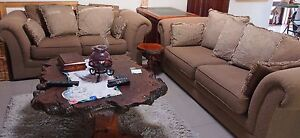 Sofa 1 X 2 seater and 1 x3 seater Ashmore Gold Coast City Preview