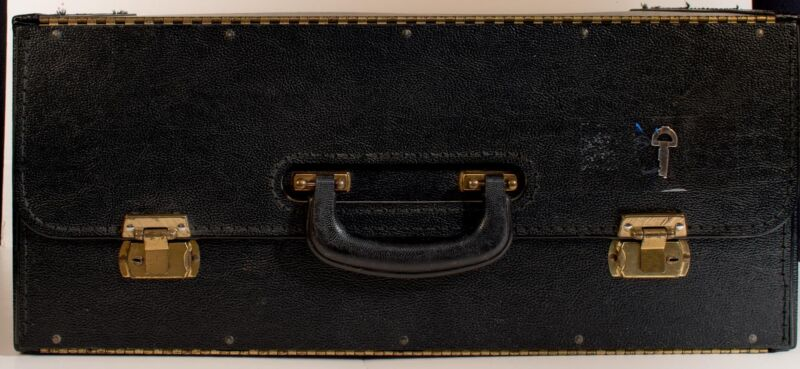Stebco Type Carrying Case Document Catalog Black Used