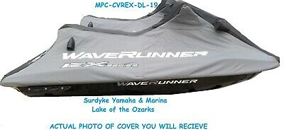Genuine Yamaha Waverunner Cover Fits: EX Deluxe & Sport Model 2017 - 2020