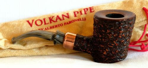 Alberto Paronelli UNSMOKED Volkan Antiqua Freehand/ Sitter/ Handmade Italy