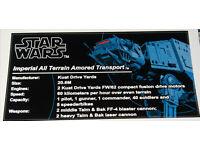 Star Wars Sticker for LEGO ® moc-0616 AT-AT UCS Anio Sticker Precut
