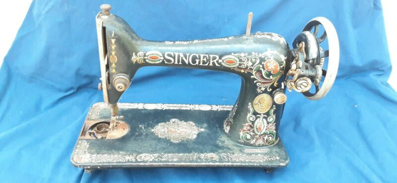Vintage singer sewing machine 99 parts