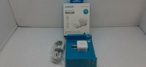 Anker PowerPort Atom PD 1 Big Power, Small size 30W Power Delivery Wall Charger