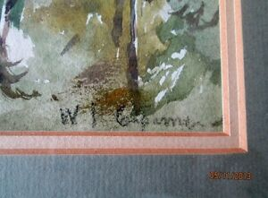 Watercolour, Signed and Beautifully Framed Kitchener / Waterloo Kitchener Area image 2
