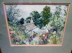 Watercolour, Signed and Beautifully Framed Kitchener / Waterloo Kitchener Area image 6