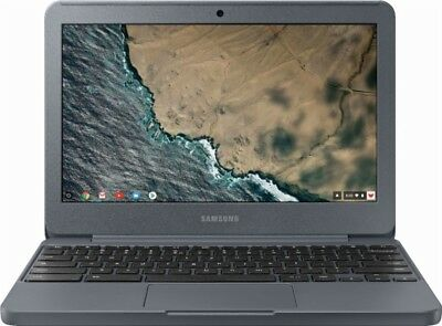 New Samsung XE501C13-K02US 11.6'' Chromebook Intel Celeron N3060 4GB 32GB eMMC
