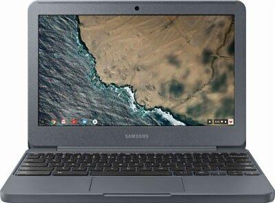 "Samsung - 11.6"" Chromebook, Intel Celeron, 4GB Memory, 32GB eMMC flash memory"