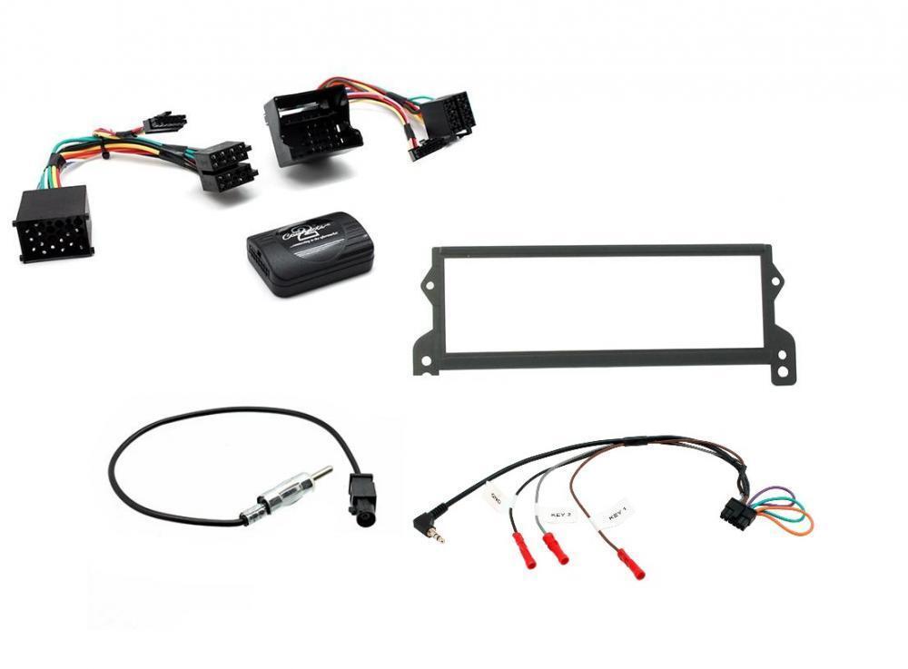 1 DIN Car Stereo Facia Radio adapte for BMW Mini Cooper 2000-2006 1 din