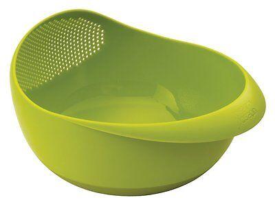 Joseph Joseph Salad Bowl - Joseph Joseph Prep and Serve Bowl with Integrated Colander, Large Green (40063)