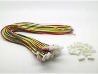 JST PH 2,0 mm 5-Pin Stecker und  Buchse ca 150 mm Kabel