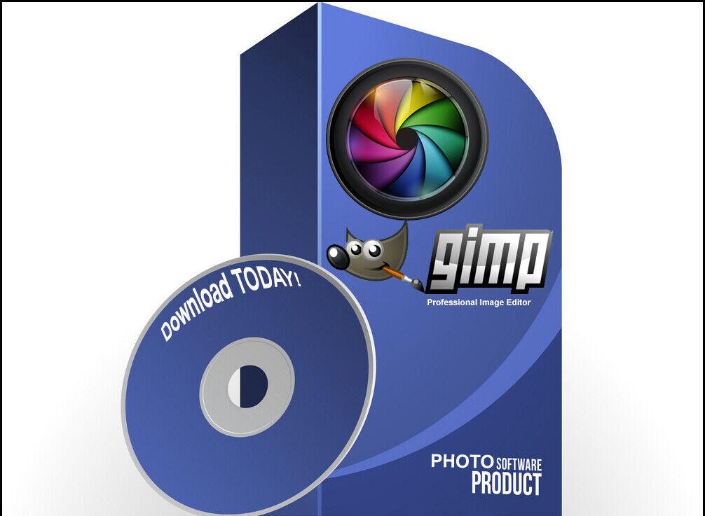 Professional Photo Image Editing Software - GIMP 2 - PC Windows 7/8/10