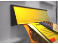 Leaflet Distribution - Fast Door to Door Delivery -Any Area Of London 24/7 - Secure
