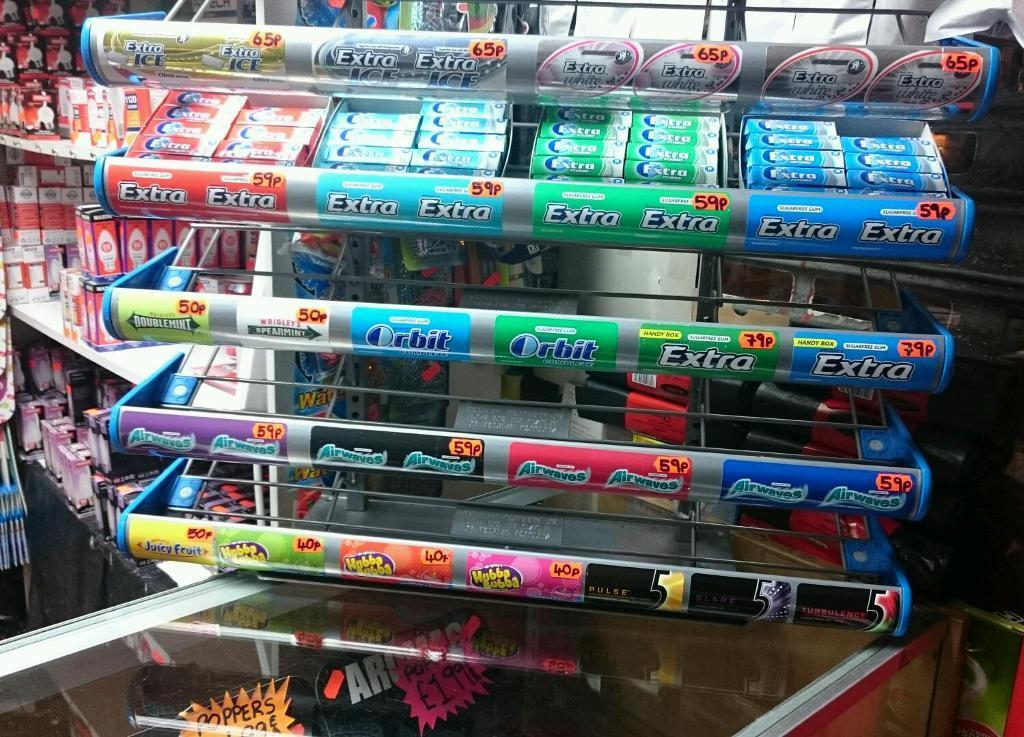 Wrigleys Chewing Gum Stand For Sale In Southside Glasgow Gumtree Impressive Wrigley's Chewing Gum Display Stand