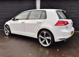 2014 VOLKSWAGEN GOLF 1.6 TDI 105 MATCH BLUEMOTION NOT LEON CIVIC ASTRA A3 A4 S LINE POLO IBIZA MINI