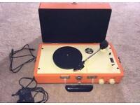 Vinyl Turntable Twin Speed LP & Singles Stereo Retro Looks As New