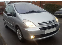 Picasso Exclusive, 1.6 Hdi Diesel 60MPG- Full Service history MOT Oct 2018. Family Car Scenic Galaxy