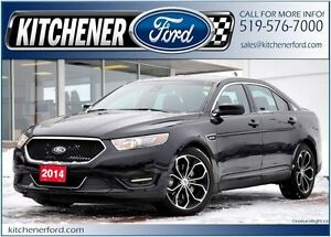 2014 Ford Taurus SHO SHO/LEATHER/HEAT&COOL SEATS/SUNROOF/CAME...