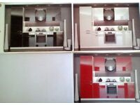 Brand New Modern kitchen cabinets. Complete set 260cm, 6 cabinets.