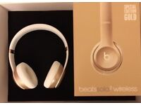 Beats Solo 2 Wireless Gold Special Edition